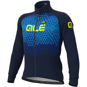 Alé Cycling Solid Summit DWR Chaqueta Hombre, navy/light blue